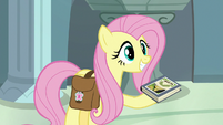 Fluttershy gives RD her Fallen Idol copy S9E21