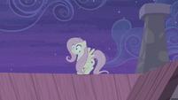 Fluttershy hears Starlight's voice S5E02