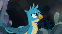 Gallus watching the entrance close S8E22