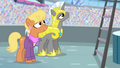 Ms. Harshwhinny and royal guard surprised S4E24.png