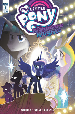 Nightmare Knights issue 1 cover A
