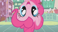 Pinkie Pie appears from top of frame S1E12