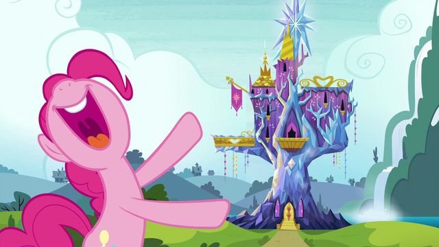 File:Pinkie Pie presents the Castle of Friendship S7E4.png
