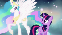 "Princess Celestia ""you are ready, Twilight"" S03E13"