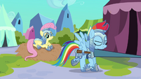 "Rainbow Dash ""Not too easy"" S3E02"