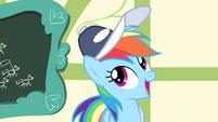 """Rainbow Dash """"carried the Cloudsdale flag"""" S4E05"""