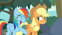 Rainbow Dash -we knew that- S8E9