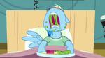 Rainbow Dash eating messily S2E16