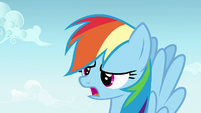 Rainbow Dash exhausted -again-- S7E14