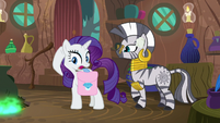 "Rarity ""I think I heard something!"" S8E11"