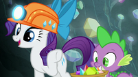 "Rarity ""do you know how rare this is?"" S7E4"