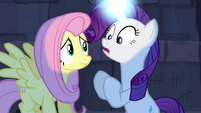 "Rarity ""felt something... alive!"" S4E03"