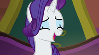 Rarity singing --that's the key-- S6E12