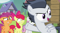 "Rumble proclaims ""blank flanks forever!"" S7E21"