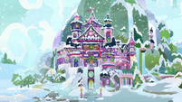 School of Friendship covered in snow BGES3