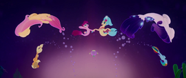 Skystar and her friends in One Small Thing MLPTM