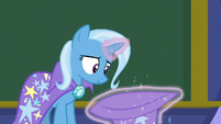 Trixie takes off her magician's hat S8E15