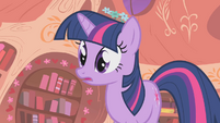Twilight sees Rarity and Applejack arguing S01E08