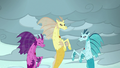 Adagio, Aria, and Sonata under a cloudy sky S7E26.png