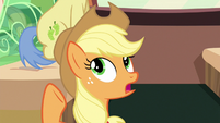 "Applejack ""get serious and play hard"" S6E18"
