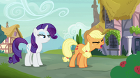 "Applejack ""she wouldn't be so mean"" S7E9"