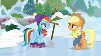 Applejack gives Dash another challenge BGES1