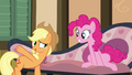 Applejack pointing to Big McIntosh S4E09.png