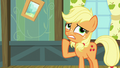 Applejack trying to think of another excuse S6E23.png