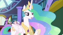 "Celestia ""if there's anything I can do"" S8E7"