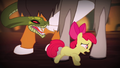 Chimera snake head chasing Apple Bloom S4E17.png