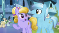 Crystal Ponies becoming cheerful again S3E01.png