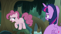 Fake Pinkie -boring, lame, no-fun retreat- S8E13