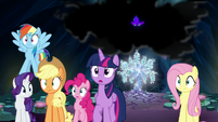 Mane Six feeling the ground shake S9E1