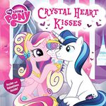My Little Pony Crystal Heart Kisses book cover