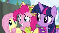Pinkie Pie smiling S4E10