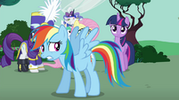 """Rainbow """"I am never gonna pass this test"""" S4E21"""