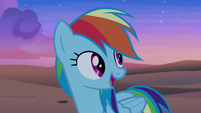 "Rainbow Dash ""maybe they can help us"" S7E18"