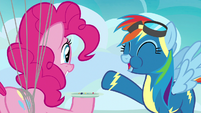 "Rainbow Dash ""the best I've ever had!"" S7E23"