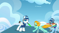 Rainbow Dash and Lightning Dust taking off S3E7.png