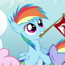 Rainbow Dash filly ID