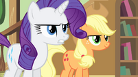 Rarity -you got what you deserved!- S4E11