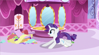 Rarity had a fall S2E23