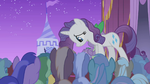 Rarity shows up in front of Hoity Toity S1E14