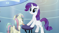Rarity wide eyed beauty S3E12