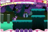 RiM Unicorn race Sweetie Drops and Lyra Heartstrings
