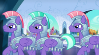 Royal guards search for Thorax S6E16