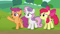 Scootaloo --if we wanna be a part of this race-- S6E14