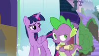 """Spike """"couldn't have put it into the box"""" S9E5"""