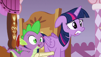 Spike --then what happened-!-- S6E22