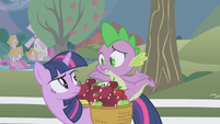 Spike shrugging -what-- S1E03